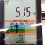 3日間ファスティングで何㎏落ちる? 体重-1.8㎏ 体脂肪率-2.4%