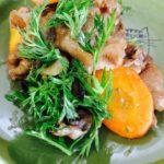 βカロテンは油と相性の良いビタミン。葉つき人参の美味しい食べ方 その①