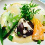 回復食で温野菜サラダ